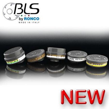 BLS Cartridges Gas, Vapor, and Particulate