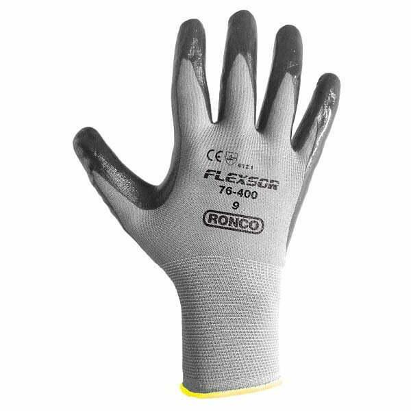 FLEXSOR™ 76-400 Nitrile Palm Coated Nylon Glove