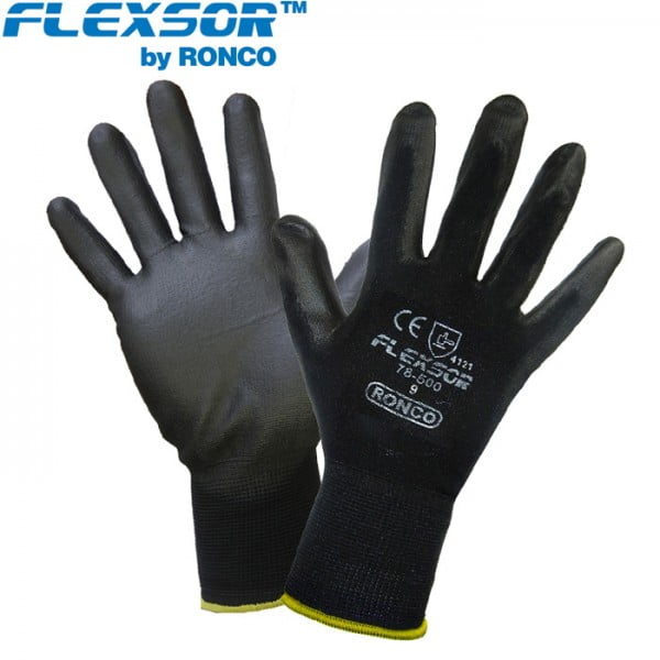 FLEXSOR™ 78-500 PU Palm Coated Nylon Glove