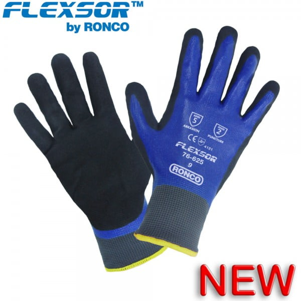 Flexsor™ 76-625 Fully Coated Glove With Sandy Nitrile