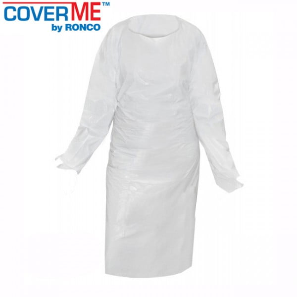 Gown Cast Polyethylene With Thumb Loops