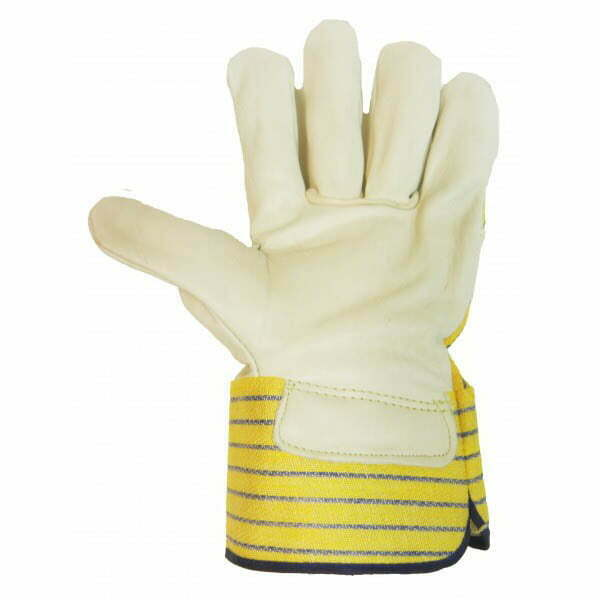 Grain Leather Fitter With Safety Cuff