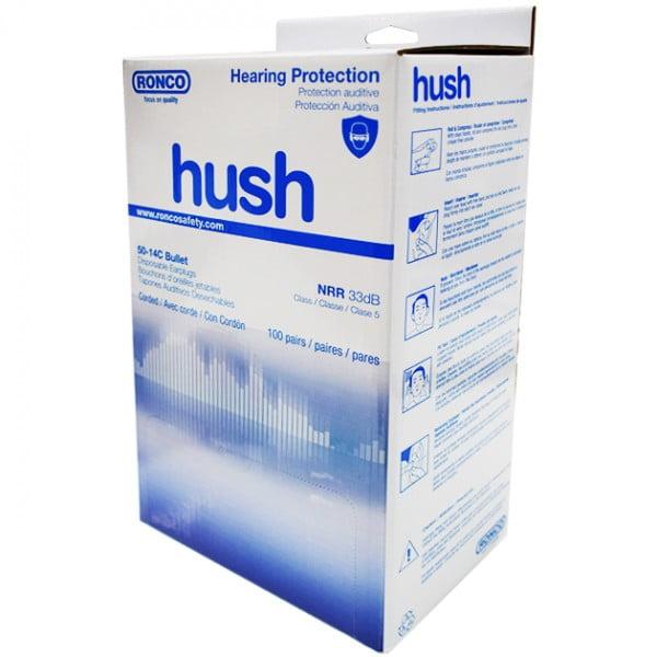 HUSH™ 14 Series Earplugs