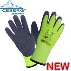 Iceberg™ 77-603 HiViz Latex Palm Coated Glove