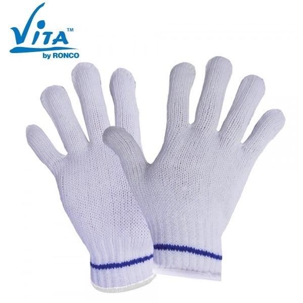 Polyester String Knit Glove