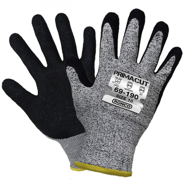PrimaCut™ 69-190 Latex Palm Coated HPPE Glove