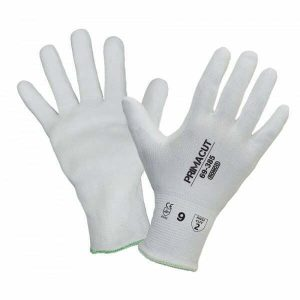 PrimaCut™ 69-385 White PU Palm Coated HPPE Glove Cut Level: CE 3 / ANSI 2 (Previously known as Defensor)