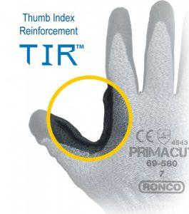 PrimaCut™ 69-580 PU Palm Coated HPPE Glove