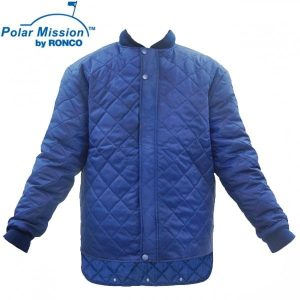 Quilted Freezer Jacket With No Pockets