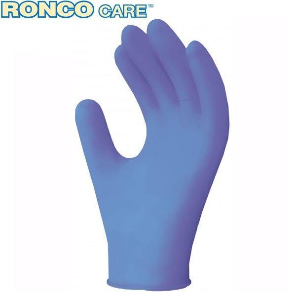 RONCO CARE™ Blue Vinyl Disposable Glove (3 mil)