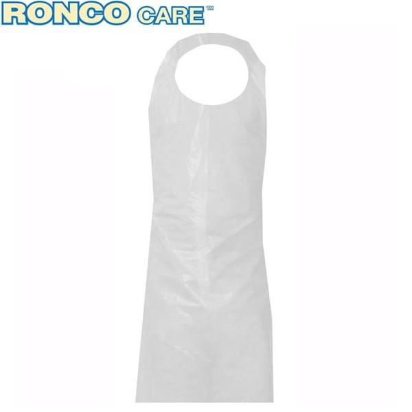 RONCO CARE Polyethylene (PE) Apron 0.75mil