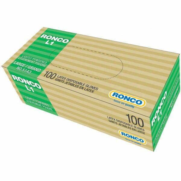 RONCO L1 Latex Disposable Glove (3 mil)