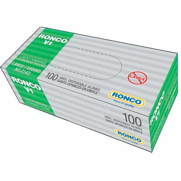 RONCO V1 Vinyl Disposable Glove (3 mil)