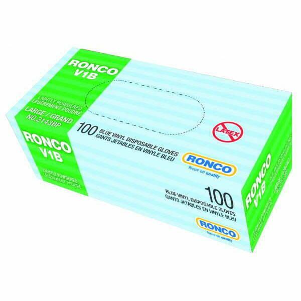 RONCO V1B Vinyl Disposable Glove (3 mil)