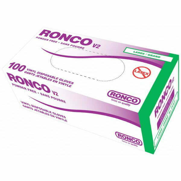 RONCO V2 Vinyl Disposable Glove (4 mil)