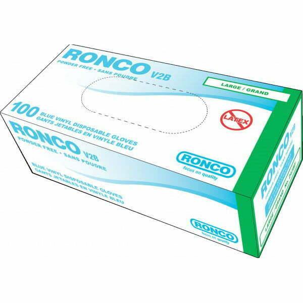 RONCO V2B Vinyl Disposable Glove (4 mil)