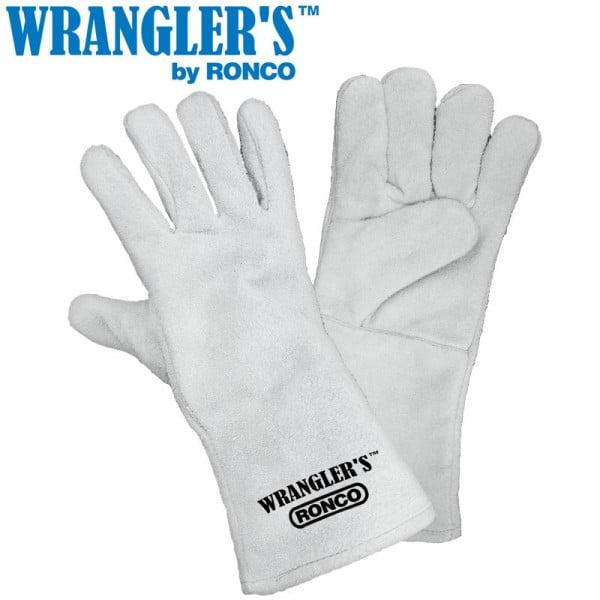 Split Leather 5 Finger Welders Fully Lined