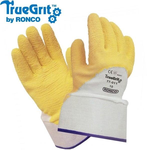 TRUE GRIT™ Crinkle Latex Dipped Glove