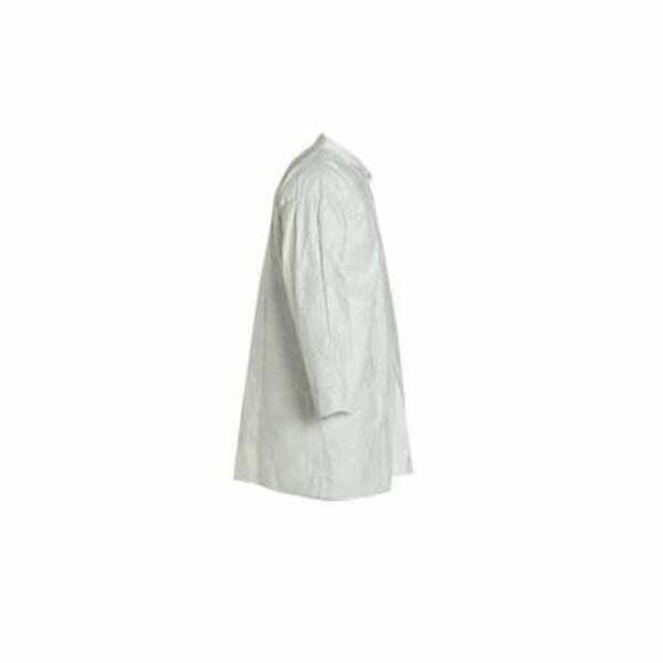 Tyvek® Labcoat With Collar and Front Snaps