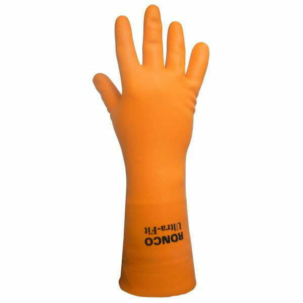 ULTRA-FIT™ Latex Reusable Glove, Flocklined