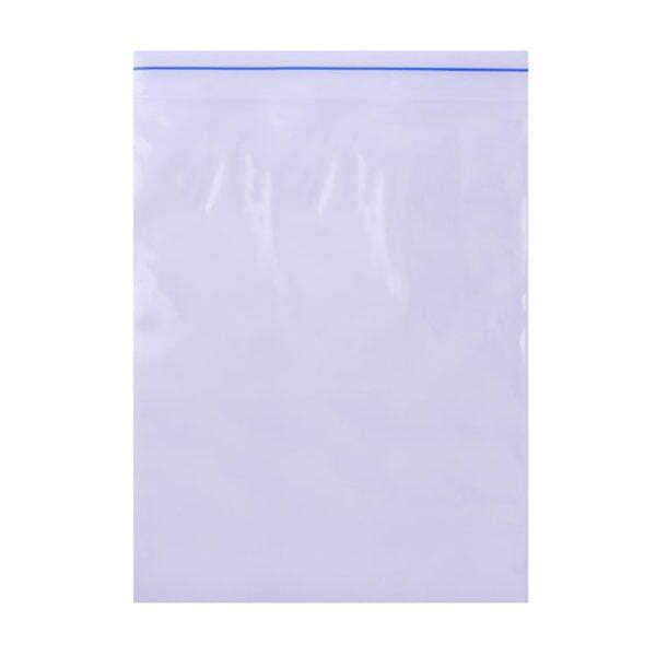 Ziplock Reclosable Bag 4Mil Plain