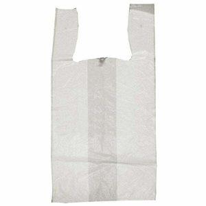 HDPE White T-Shirt Bags