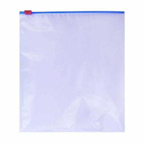 Ziplock Reclosable Slider Reclosable Bag 2.25Mil Plain