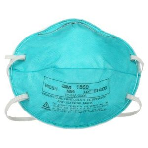 3M™ Particulate Healthcare Respirator, 1860, N95